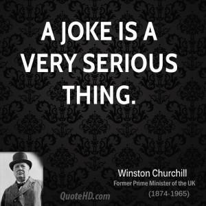 Winston Churchill Humor Quotes | QuoteHD