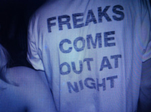 shirt freaks top grunge tumblr night soft grunge quote on it freaks ...