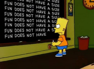 Bart Simpson at the blackboard pics03 Funny: Bart Simpson at the ...