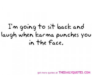 Related Pictures funny karma quotes and sayings tumblr