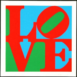 Robert Indiana- LOVE