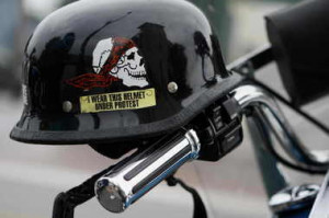 ... lobbied against Michigan's decades-old motorcycle helmet requirement