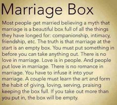 quotes about marriage problems | marriage box most people get married ...