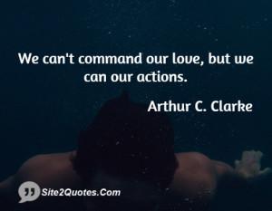 Arthur C Clarke Quote