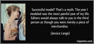 More Jessica Lange Quotes