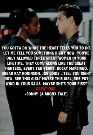 bronx tale on Tumblr