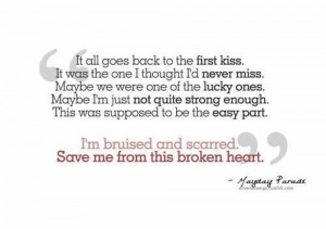 Bruised And Scarred - Mayday Parade