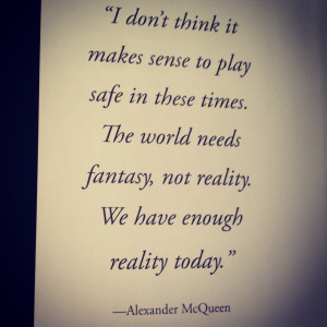 Famous Fashion Quotes By Alexander Mcqueen Alexander mcqueen quotes