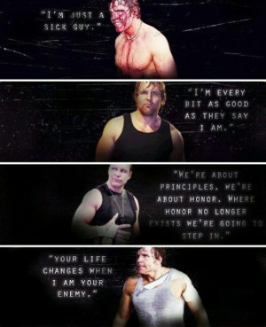 Jon Moxley/Dean Ambrose quotes through the years