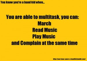 Funny Marching Band Quotes And Sayings Pictures the marching band