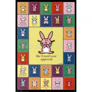 happy bunny quotes list