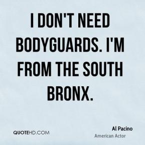 Bronx Quotes