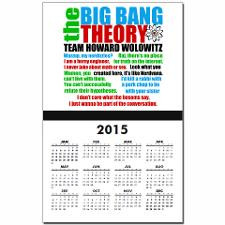 Howard Wolowitz Quotes Calendar Print for