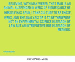 Max weber essays
