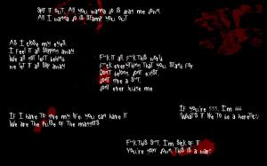 Slipknot Lyrics by G18241