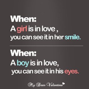 girlfriend quotes when a girl is in love