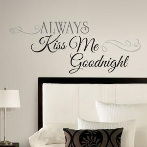 Romantic Bedroom Wall Decals Quotes Aqa13