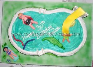 coolest-birthday-cakes...Swimming Pool Cake