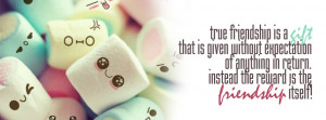 True Friendship - Facebook Cover Photo