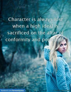 character ...