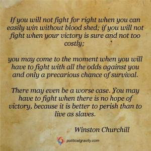 Quote, Winston Churchill