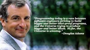Engineering Quote of the Week - Douglas Adams