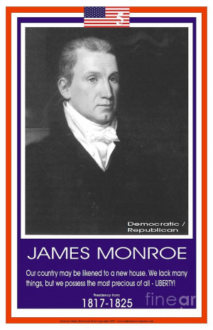 President James Monroe Photograph