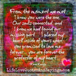 The Protector of My Heart...