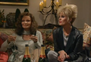 1990s Christmas: Absolutely Fabulous