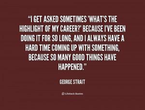 george strait quotes