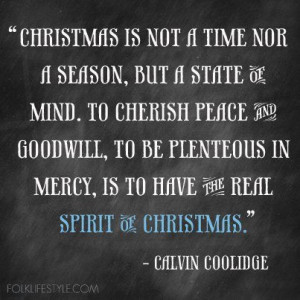 Christmas spirit pictures and quotes | ... Us Here At Folk Magazine We ...