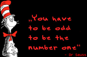 You have to be odd to be the number one dr seuss breakevenplus.com