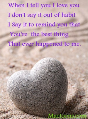 ... Love – Motivational Love quotes: Grey Zen Stone In Shape Of Heart