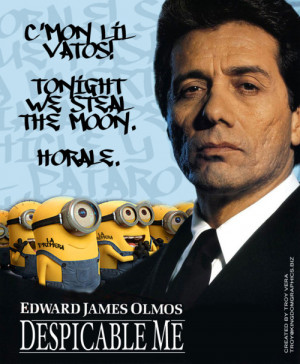 edward james olmos movie poster movie despicable me american me ...
