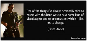 More Peter Steele Quotes