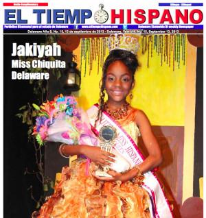 gelopanda:diasporadash:Jakiyah McKoy was crowned Little Miss Hispanic ...