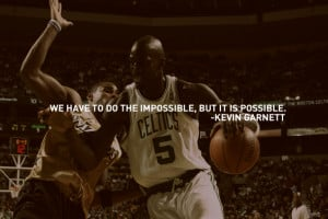 Kevin Garnett - Impossible by chrisbrown55
