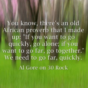Al Gore on 30 Rock motivational inspirational love life quotes sayings ...
