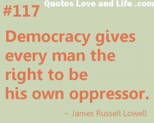 Quotes About Democracy