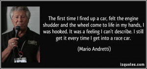 More Mario Andretti Quotes