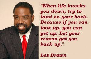 ... you may find the best collection of Les Brown Motivational Quotes