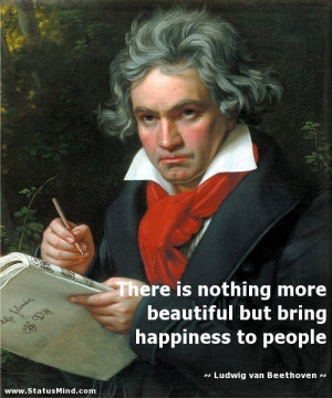 Beethoven Quotes About God