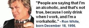 Ron White, born December 18, 1956. #RonWhite #Humor #DecemberBirthdays ...