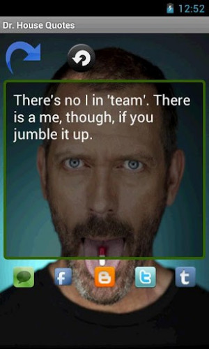 View bigger - Gregory House QUOTES for Android screenshot
