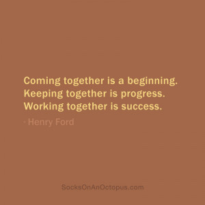 Success Quotes for Working Together