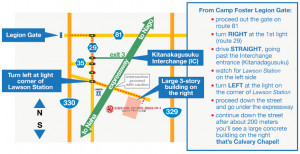 Camp Foster Okinawa Building Map