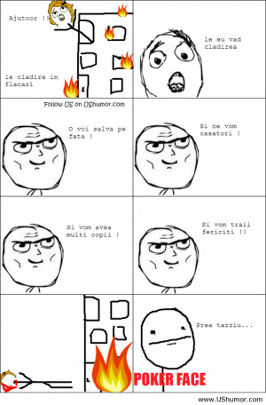 Poker face rage comics US Humor - Funny pictures, Quotes, Pics, Photos ...