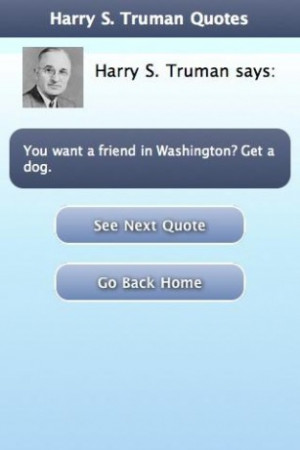 Harry S Truman Quotes Screenshots harry s. truman