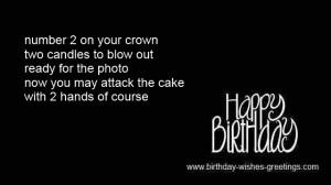 happy 2 year old birthday wishes children -