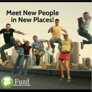 meet new people in new places